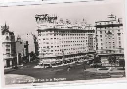 ARGENTINE - BUENOS AIRES - N° 147 - Plaza De La Republica - (Publicité Firestone  Sur Le Batiment) - Costa Rica