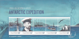 Australian Antarctic Territory 2011 Antarctic Expedition MS MNH - Unclassified