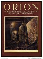 Defekte Orion Zeitschrift  Nr. 8 / 1950  -  Floßbau Am Gelben Fluss  -  Norwegischer Atombrenner - Livres, BD, Revues