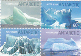 Australian Antarctic Territory  2011 Landscapes Icebergs Set MNH - Australian Antarctic Territory (AAT)