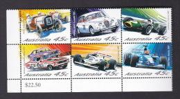 Australia 2002 Motor Racing Set MNH - Motorbikes