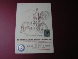 == Italia Mostra Fila Biella 1958 - 6. 1946-.. Republik