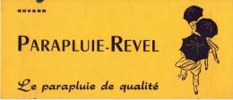 Buvard - Parapluie REVEL - Illustration Cappiello