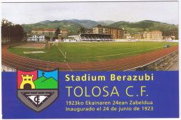 TOLOSA STADIUM BERAZUBI  TOLOSA CF  TBE - Fútbol
