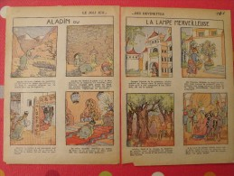 7 Devinettes Images Illustrées. 1932. Contes : Aladin Ou La Lampe Merveilleuse. F. Chevallier. - Collections