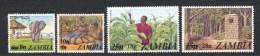 Zambia, Yvert 185/188, Scott 188/191, MNH - Zambie (1965-...)