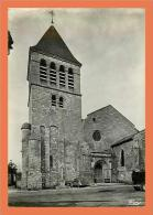 24 - MAREUIL BELLE - Eglise Saint Laurent // CPSM Dentellée ( Automobile - Voiture ) - Sonstige Gemeinden