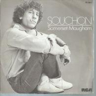 """45 Tours SP - ALAIN SOUCHON - RCA 8825 -   """" SOMERSET MAUGHAM """" + 1 - Otros - Canción Francesa"""