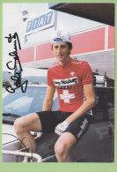Godi SCHMUTZ, Autographe Manuscrit, Dédicace. 2 Scans. Fiat. Vraie Photo - Cycling