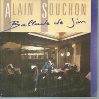 """45 Tours SP - ALAIN SOUCHON - VIRGIN 90235 -   """" BALLADE DE JIM """" +  1 - Otros - Canción Francesa"""