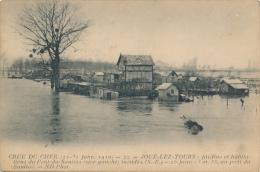 JOUE LES TOURS - Crue Du Cher 1910 - Otros Municipios