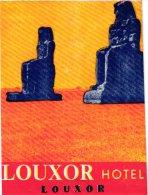HOTEL LABELS  EGYPT    1 P     Louxor  Hotel - Hotel Labels