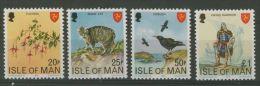 ISLE OF MAN 1978 HIGH VALUES PERF 11.5  MNH ** - Isola Di Man