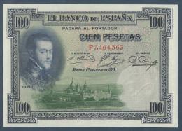 #07. ESPAÑA / SPAIN. 100 PESETAS. 1/7/1925. Pick 69. SERIE F7. SC / UNC / NEUF. - [ 2] 1931-1936 : Repubblica