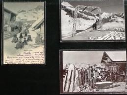 Sports D'hiver 9 Cartes Postales - Cartes Postales