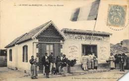 LE PORT DE BARQUES .  LA PLACE DES MAUVES . CAFE AU CAP DE BONNE ESPERANCE. - Altri Comuni