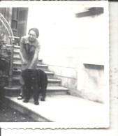 TRAVEDONA  SULLA PORTA DI CASA DI CASA CM9X7.1936-MM - Orte