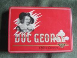 Cigars Tin Box Duc George After Dinner-Sigarenfabrieken N.V.Zeelst-Holland - Empty Tobacco Boxes