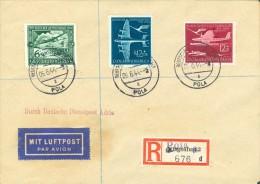 Istra Istria Pola Pula 1944 Deutsche Dienstpost Adria Luftpost - Storia Postale