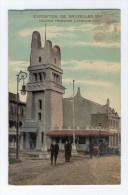 BELGIQUE BRUXELLES EXPOSITION DE BRUXELLES 1910 COLONIE FRANCAISE L'AFRIQUE OCCIDENTALE - Expositions Universelles