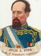 Julio Roca Président Argentine - Découpis