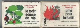 Boite D´alumette Vide La Foret Source De Vie - Boites D'allumettes