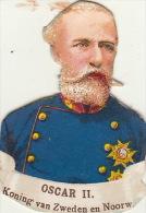 Oscar II Roi De Suède Et Norvège - Découpis