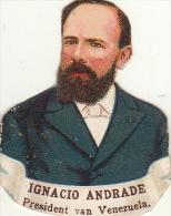 Andrade Prédident Du Venezuela - Découpis