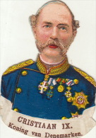 Christiaan IX Roi Du Danemark Denmark - Découpis