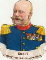 Ernst Duc De Saxe Altenburg - Découpis