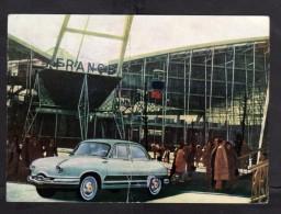 Carte Postale - PANHARD - Dyna - Exposition BRUXELLES - 1958 - Passenger Cars