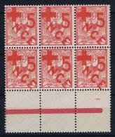 Nouvelle Caledonie: Yv 110a, Maury 105 E Surcharges Renversée MNH/**, Maury Cat Value 1110 Euro, Bord De Feuille - Nieuw-Caledonië