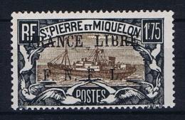 Saint-Pierre & Miquelon:  Yv 242 MH/*  Signed/signiert/ Approvato - Ongebruikt