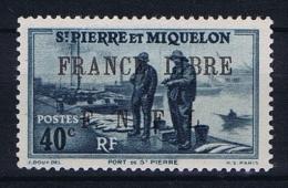 Saint-Pierre & Miquelon:  Yv 255 MH/*  Has A Light Fold - Ongebruikt