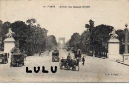 DEPT 75 : Paris , Avenue Des Champs Elysées ( J M T , Paris N° 20 - District 08