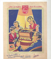 Protège Cahier Publicité Philips Joie Et Confort Dans La Maison Disque Philips - Protège-cahiers