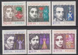 POLEN - Michel - 1978 - Nr 2591/96 - MNH** - 1944-.... Republic