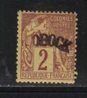 OBOCK N° 2 * Signé Scheller - Unused Stamps