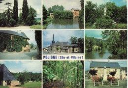 POLIGNE (35) / CPM / MULTIVUES / 9 VUES - France