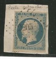 - Timbres - PRESIDENCE S/petit Fragment - N°10 + Variété - Obl.PC 2205 - VOIR - 1852 Luis-Napoléon