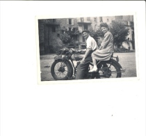 Photographie Originale : Moto à Identifier Terrot ?? Peugeot ? Motorbike - Automobili