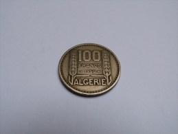 100 FRANCS  ALGERIE .1950. - Argelia