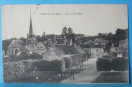 Rantigny  : La Grand Place Dans Les Années 1900  (  Animation) - Rantigny