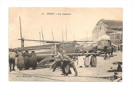 YPORT -   Les Cabestans   CPA - Dieppe
