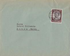 DR Ortsbrief EF Minr.540 Düben 21.8.34 - Deutschland