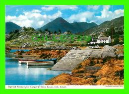 CORK, IRELAND - SUGARLOAF MOUNTAIN FROM GLENGARRIFF, BANTRY BAY CO - PHOTO, JOHN HINDE - - Cork