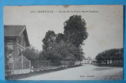 Irreville  : La Route De La Croix Sainte-Leufroy  Dans Les Années 1900 - Frankreich