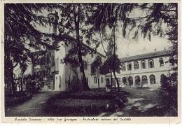 RIVAROLO CANAVESE VILLA SAN GIUSEPPE PARTICOLARE INTERNO DEL CASTELLO - 1955 - L321 - Andere Steden