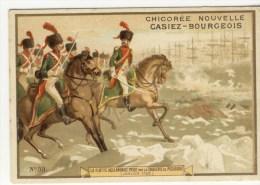 CHROMOS  - Chicorée CASIEZ-BOURGEOIS   -Relatif à L´Histoire  - La Flotte Hollandaise Prise Par La Cavalerie De Pichegru - Trade Cards