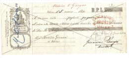 CAMBIALE 1892 1000 LIRE    C.1518 - Cambiali